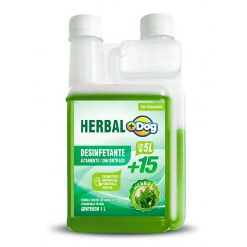 DESINFETANTE HERBAL MAIS DOG 1LT