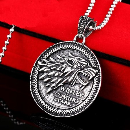 Colar corrente Símbolo Stark Game of thrones