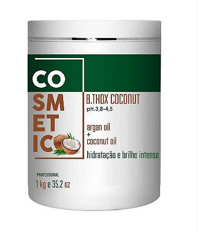Botox Capilar De Coco, 0% de FORMOL, Cabelo Sem Frizz E Hidratado - 1kg