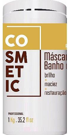 MÁSCARA BANHO DE VERNIZ, HIDRATA,BRILHO E MACIEZ 1000 ML