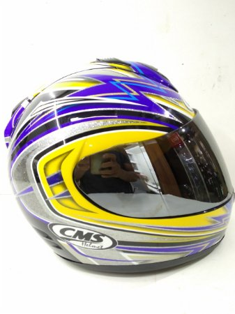 capacete cms GP5 thunder
