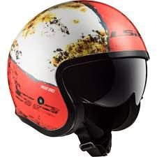 Capacete SPITFIRE OF599 RUST WHT/RED