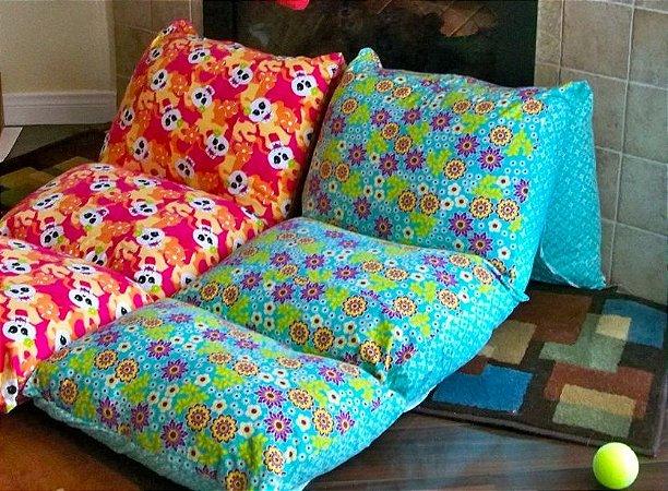 colchonete almofadas adulto