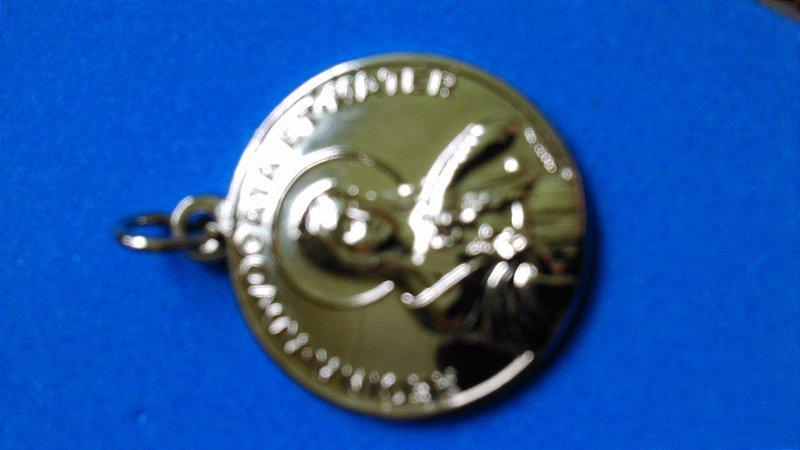 Réplica da medalha da Pima-primária (Edição limitada)
