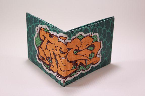 CARTEIRA SLIN GRAFFITI