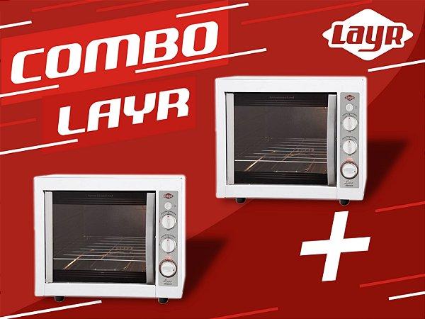 Forno Elétrico Luxo Clean Advanced 2.4  + Forno Elétrico Luxo Clean Advanced 2.4 (02 UNIDADES)