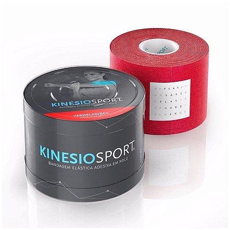 Bandagem Elástica Kinesiosport Vermelho