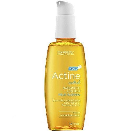 Sabonete Líquido Facial Darrow Actine Control Pele Oleosa com 140ml