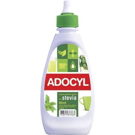 Adoçante Adocyl Stevia com 80mL