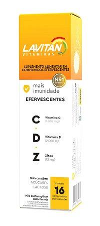 Lavitan Mais Imunidade Vitamina C.D.Z com 16 Comprimidos Efervescente