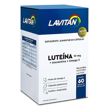 Lavitan Luteína com 60 Cápsulas