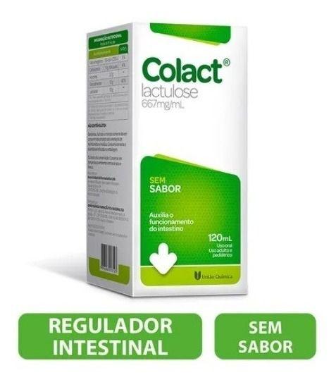 Colact Sem Sabor 120ml - Lactulose
