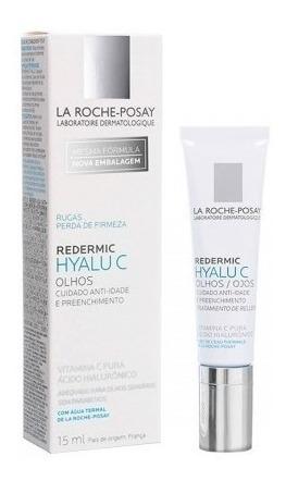 Creme Anti-idade Redermic Hyalu C Olhos La Roche-posay