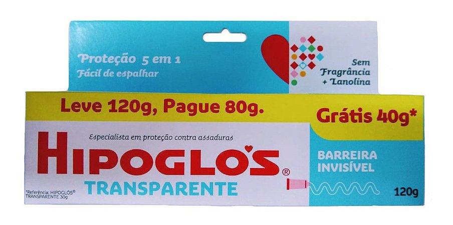 Creme Preventivo De Assaduras Hipoglós Transparente 120g