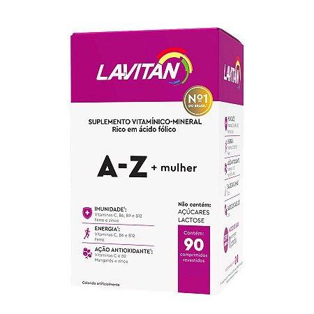Lavitan A-Z Mulher com 60 Comprimidos