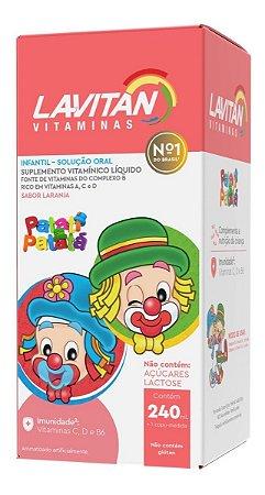 Lavitan Kids Vitaminico 240ml Patatá Sabor Laranja