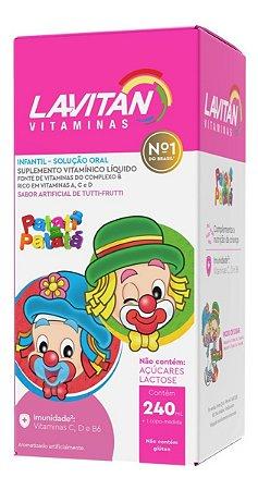 Lavitan Kids Vitaminico 240ml Patatá Sabor Tutti-frutti