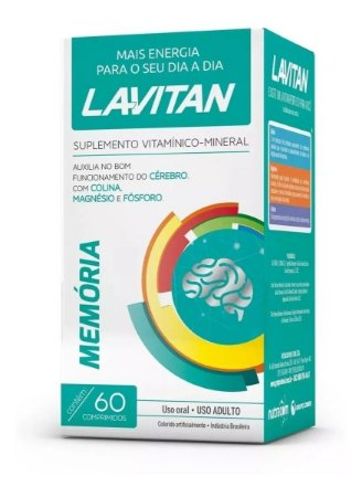 Lavitan Memória com 60 Comprimidos