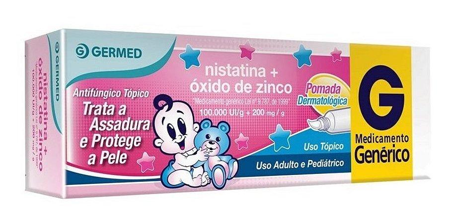 Nistatina + Oxido De Zinco Pomada 60g