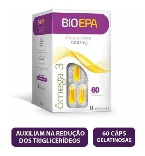 Ômega 3 Bio Epa com 60 Cápsulas Gelatinosas