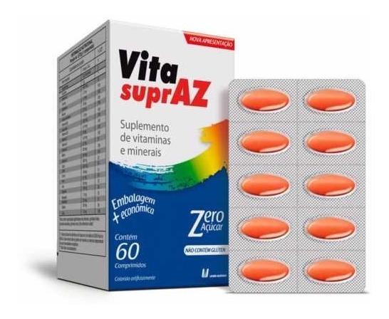Polivitamínico Vita Supraz com 60 Comprimidos