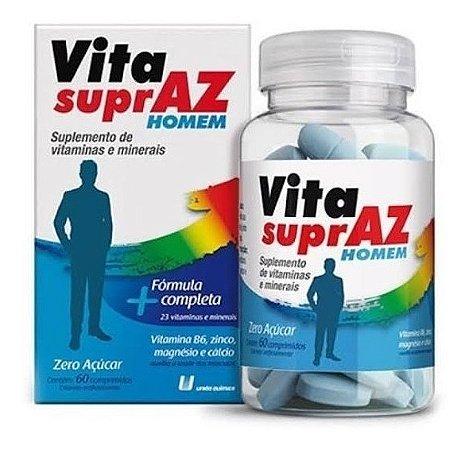 Polivitamínico Vita Supraz Homem com 60 Comprimidos