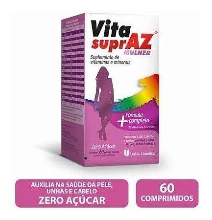 Polivitamínico Vita Supraz Mulher com 60 Comprimidos
