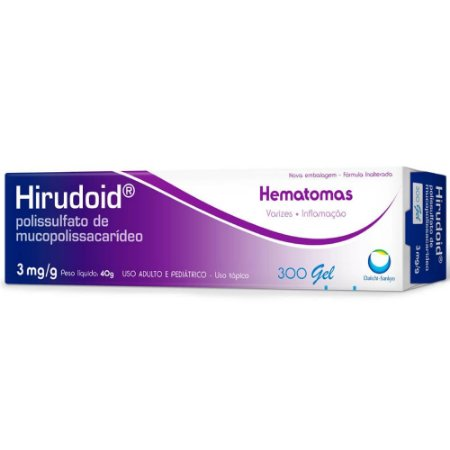 Hirudoid gel 3mg/g 40g