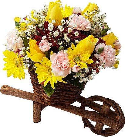 Arranjo de Flores Mistas