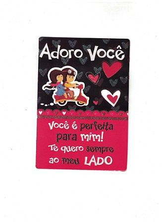 Cartão Adoro Você