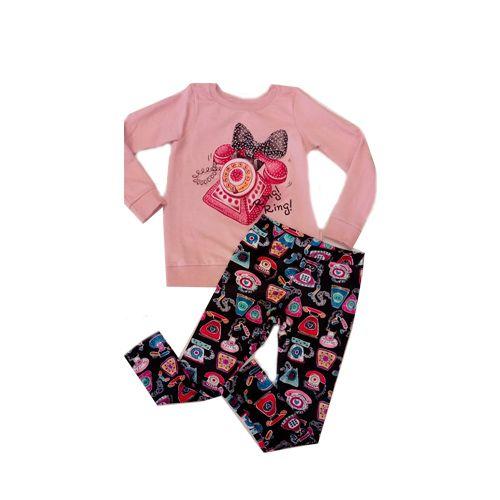 Conjunto Blusa Moletom e Calça Plush Momi