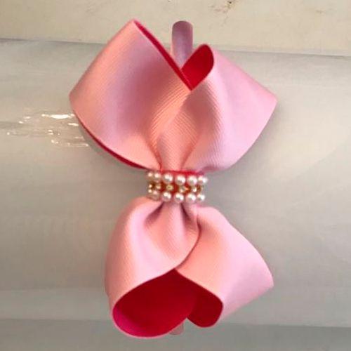 Tiara Laço Pink/Rosa
