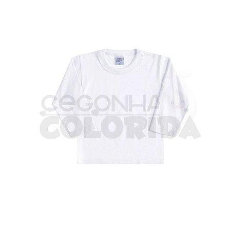 Camiseta Manga Longa Unissex Básica Lisa TAMANHO P