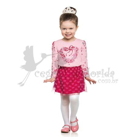 Conjunto Infantil Menina Encanto Kamylus