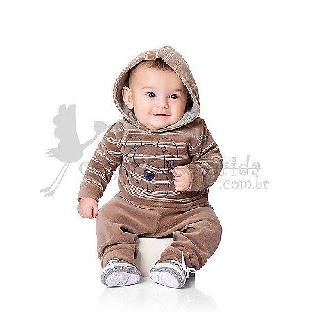 Conjunto Bebê Menino em Plush Pettenati Kiko Baby