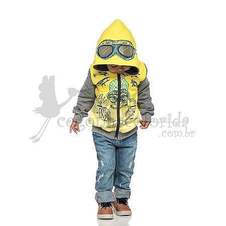Jaqueta Infantil Menino Aviador Kamylus