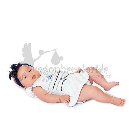 Body Saia Bebê Menina Sea Kiko Baby