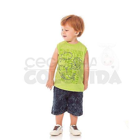 Camiseta Regata Infantil Menino Sea Summer