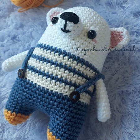Amigurumi - Noah o Urso Polar