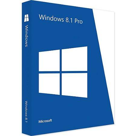 Microsoft Windows 8.1 Pro 32/64 Bits Original + Nota Fiscal