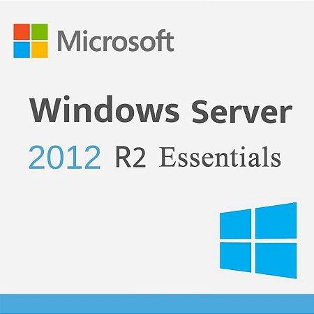 Microsoft Windows Server R2 2012 Essentials - Licença Original + Nota Fiscal