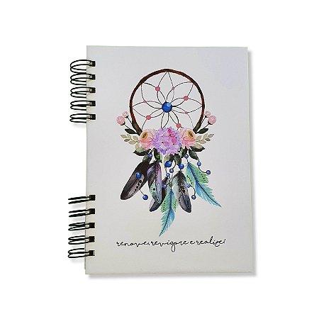 Caderno Pautado Espiral - Filtro dos Sonhos