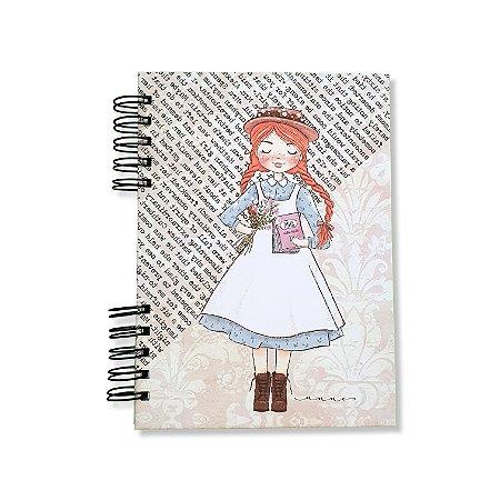 Caderno Pautado Espiral - Anne