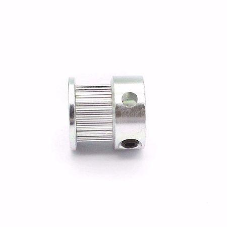 Polia GT2 20 Dentes, Furo 5mm, P/ Correia 6mm