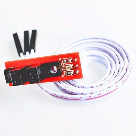 Sensor fim de curso óptico