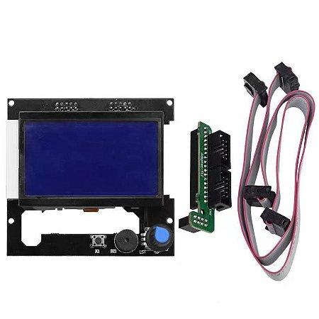Display Controladora Lcd 128x64 com Leitor SD