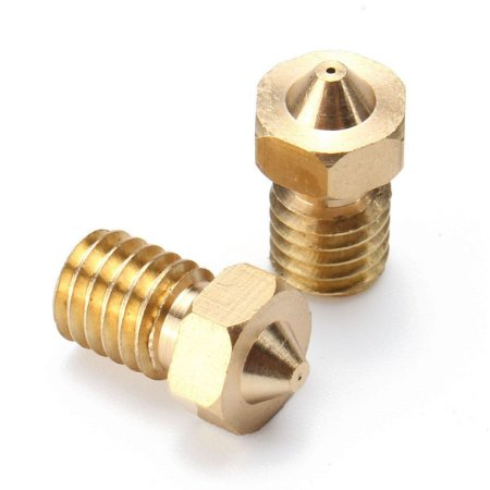 Bico Extrusora Hotend V5 / V6 1,75mm - Nozzle 0.2 mm