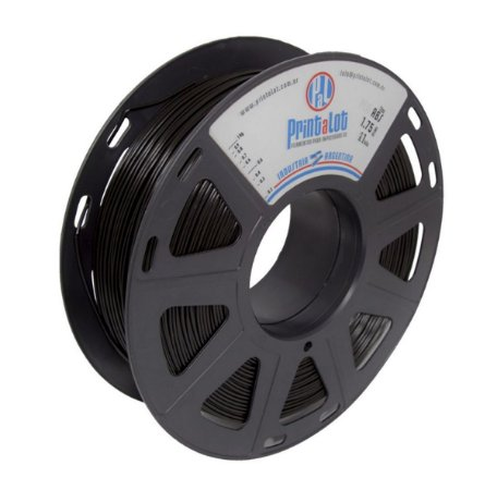Filamento ABS Preto 1,75mm  PrintaLot - 1kg