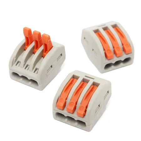 Conector WAGO 222-413 (PCT213) - 3 vias