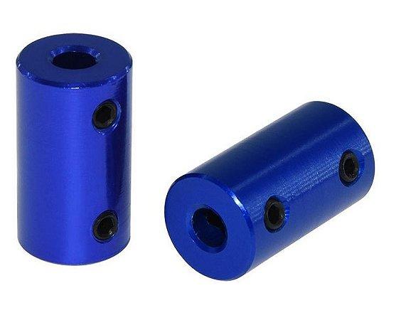 Acoplamento Rígido 5x8 - Azul
